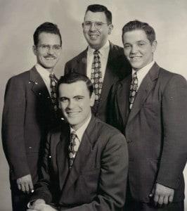 1949: Barber-Q-Four